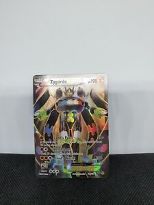 Pokemon Zygarde EX 54a/124 Fates Collide Alternate Full Art Ultra Rare NM/Mint