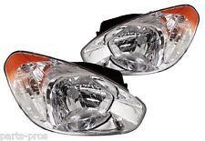New Replacement Headlight Assembly PAIR / FOR 2006-2011 HYUNDAI ACCENT