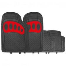 RM500 Heavy Duty Metallic RED/BLACK Rubber Floor Mats MC18/02