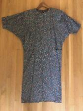 Minx ~ Vintage ~ 1980's ~ Dress ~ Germany ~ Turquoise & Orange ~ Size 38 ~ EUC