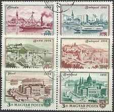 Timbres Hongrie 2265/70 o lot 14464