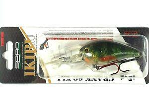 Leurre SPRO IKIRU CRANK 60 XXL / 60mm 14g /  Green Perch / Prof. nage 2,5m