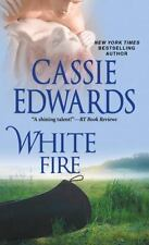 WHITE FIRE - EDWARDS, CASSIE - NEW PAPERBACK BOOK