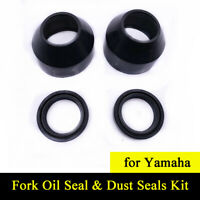 32x44x10.5mm Fork Oil Seal & Dust Seals Kit For YAMAHA DT125 RD125 DS6 250 DT125