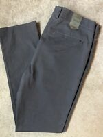 "ALL SAINTS SLATE GREY ""PACIFIC"" SLIM FIT TROUSERS PANTS CHINOS - 32"" - NEW TAGS"