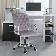 More details for computer desk&office chair set corner pc table rotating w/ drawers shelves home
