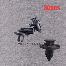 30x Neu Für Nissan Qashqai Primer Klips Stoßstangen Kotflügel Befestigung Clips