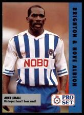 Pro Set Fußball Fixtures 1991-1992 Brighton & Hove Albion Mike Klein #25