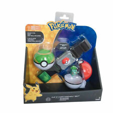 New Tomy Pokemon Clip 'N' Carry Poke Ball Belt - Bulbasaur- Kids Toys
