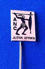 ANC African National Congress South Africa - old vintage pin badge - PODRAVKA !