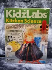 New ListingKitchen Science Kit Educational Toy For Children W/ 6 Fun Experiments By 4M New