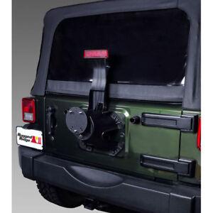 New For Jeep Cj Yj Tj Jk 76-17 Tire Carrier Spacer Black  X 11585.02