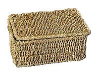 Seagrass Medium Storage Basket Box With Lid