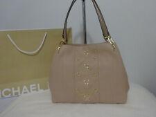 Michael Kors Lg Shoulder Bag Soft Leather & Stud Embellish Nwt w/Dust Bag