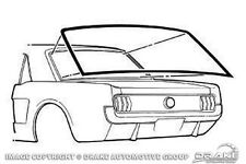 NEW! 1965-1968 Mustang Coupe Hardtop Weatherstrip Gasket Drake made Best Quality