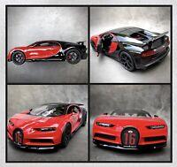Bugatti Chiron Sport Speciale Special Edition Diecast Boxed 1:18 Model Car