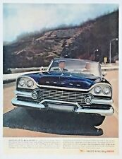1958 Dodge Swept Wing Advertisement Color Photo Vintage Car Print AD