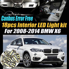 18Pc 2008-2014 BMW X6 Canbus Error Free Super White Car Interior LED Light Pack