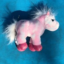 Ganz Pink Pony Plush Stuffed Animal Tie Dye 8""