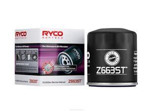 Ryco Syntec Oil Filter Z663ST fits Holden Commodore VE 3.0 V6, VE 6.0 V8, VF ...