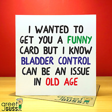 Birthday Mum Auntie 30th 40th 50th 60th Card Funny Rude Naughty Adult Prank