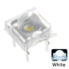 20PCS 5mm F5 Piranha LED White Round Head Super Bright Light Emitting Diode
