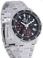 NEW! Casio Mens Edifice Red Blue Chronograph Gents Watch EFV-540D-1AVUEF
