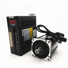 4NM 1KW 1000W NEMA32 80mm 220V 2500R/Min AC Servo Drive+Motor CNC Machining