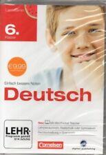 Cornelsen - Lernvitamin Deutsch Klasse 6 - Realschule und Gymnasium - PC Softwar