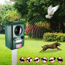 Yard Guard Ultrasonic Pest Repeller Electronic Solar Home Control Squirrels Bird