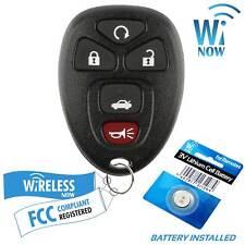 Car Key Fob Keyless Entry Remote For 2009 2010 2011 2012 Chevrolet Malibu