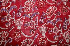 Indian Cotton Fabric DRESS MATERIAL tela tissu ethnic boho hippie tyg pintucks
