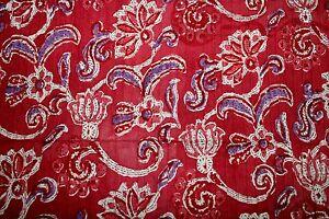 Indian Cotton Fabric Dress Material Tissu Ethnic Hippie Boho For Womens Pintucks