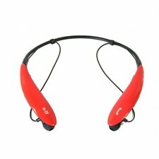 Bluetooth Wireless Headphones and Mic red