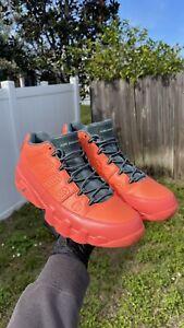 Nike Air Jordan 9 Retro Low Bright Mango/Ghost Green SIZE 12 SZ12