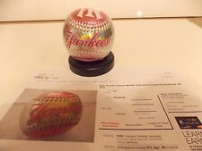 New York Yankees Metallic Pink and Silver Franklin baseball 2009  sealed in orig