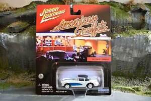 Johnny Lightning - American Graffiti - 1957 Chevy Corvette - Sealed