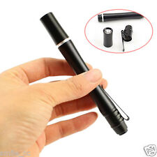 Mini Portable LED Flashlight First Aid Medical Pen Light LED Small Pocket Torch