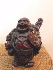 """Dark Red Buddha Faux Wood 2.25"""" Heavy for its size"""