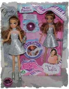 Poupée Disney Violetta Music Passion + Maquillage Gloss Brillant Giochi Preziosi