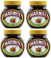 4X Bote de Marmite Levadura Extraer Extenderse 4 Bote 250g
