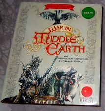 WAR IN MIDDLE EARTH Vintage  5.25 dos PC game - Melbourne house 1988