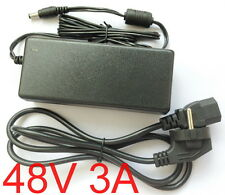 AC Converter Adapter DC 48V 3A Switching power supply Charger 5.5mm US/EU/AU/UK