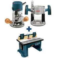 Router Table with Router and Plunge Base Kit 12 Amp Bosch Bench Top Tool NEW