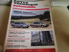 RTA 545 de 1992: NISSAN Primera 1.6 essence & 2.0 Diesel Evolution AUSTIN MINI