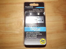 MAXVIEW TOURING TV FREEVIEW HD DIGITAL SIGNAL FINDER CAMPER CARAVAN RV VW VAN