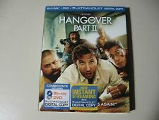 The Hangover Part 2 II (Blu-ray/DVD, 2011, 2-Disc Set) Brand New and Sealed