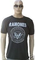ViP AMPLIFIED RAMONES Hey Ho Let's Go Logo You Rock Star Vintage T-Shirt XL/XXL