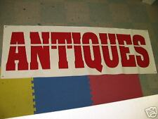 ANTIQUES All Weather Banner Sign Furniture Chair China Shop Show Case Display