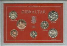 Gibraltar (la roche de) animaux oiseaux & bâtiments bu pièce ensemble cadeau 2001-2002
